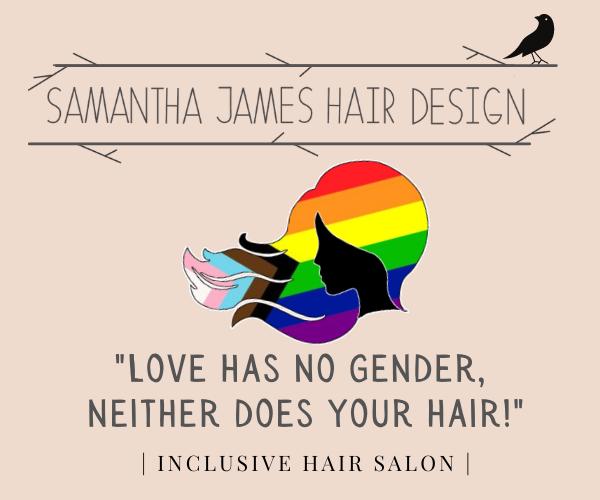 Samantha James Hair Design ad