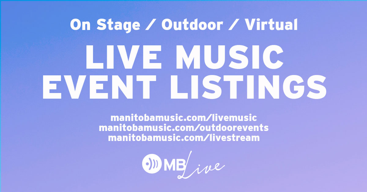 MB Live ad, including purple background and list of services and URLs
